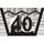 Symbol - Praní - Maximální teplota 40 °C